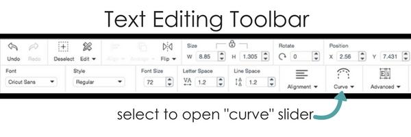 Text Editing Toolbar