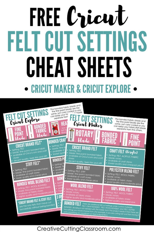 Cutting Felt with a Cricut Explore and Cricut Maker — Creative