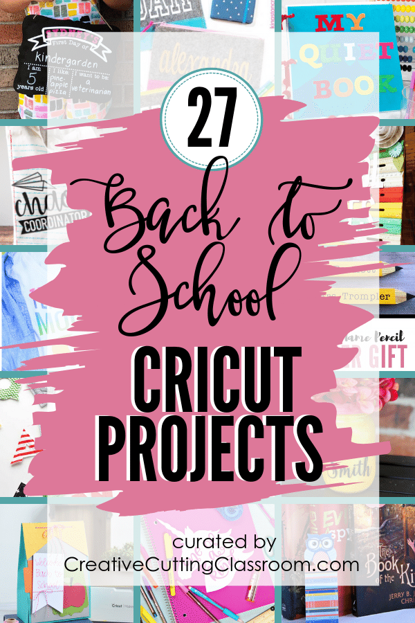 27 Back to School Cricut Projects to make going back to school special! #cricut #Cricutprojects #CricutExplore #CricutMaker #CricutIdeas #CricutCrafts #BeginnerCricutProjects #CricutProjectsVinyl #CricutGifts #CricutTeacherGIft #teachergift #teacherappreciationgifts #backtoschool #backtoschoolcricutprojects #cricutschool projects #teacherappredciationgiftideas #teacherappreciationweek #cricutteacherprojects #cricutteacherbacktoschool