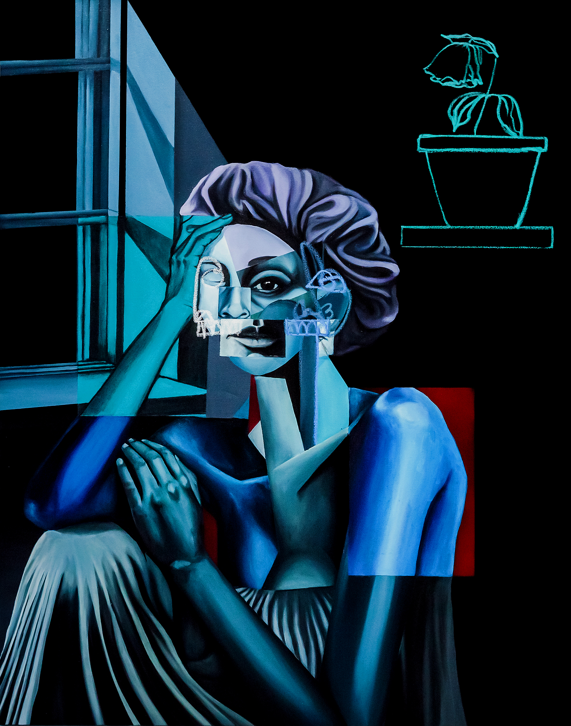"""""""WOMAN BY THE WINDOW"""""""