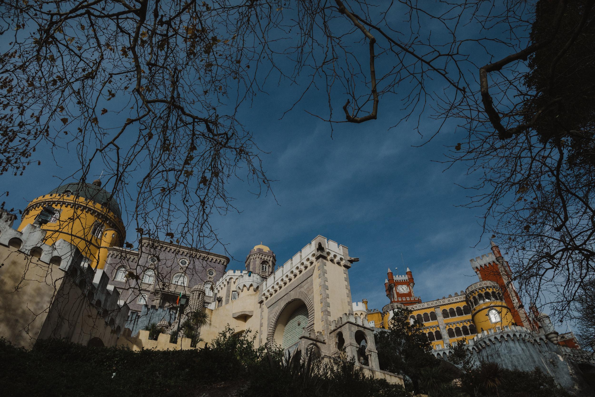 The beautiful Palace de Pena