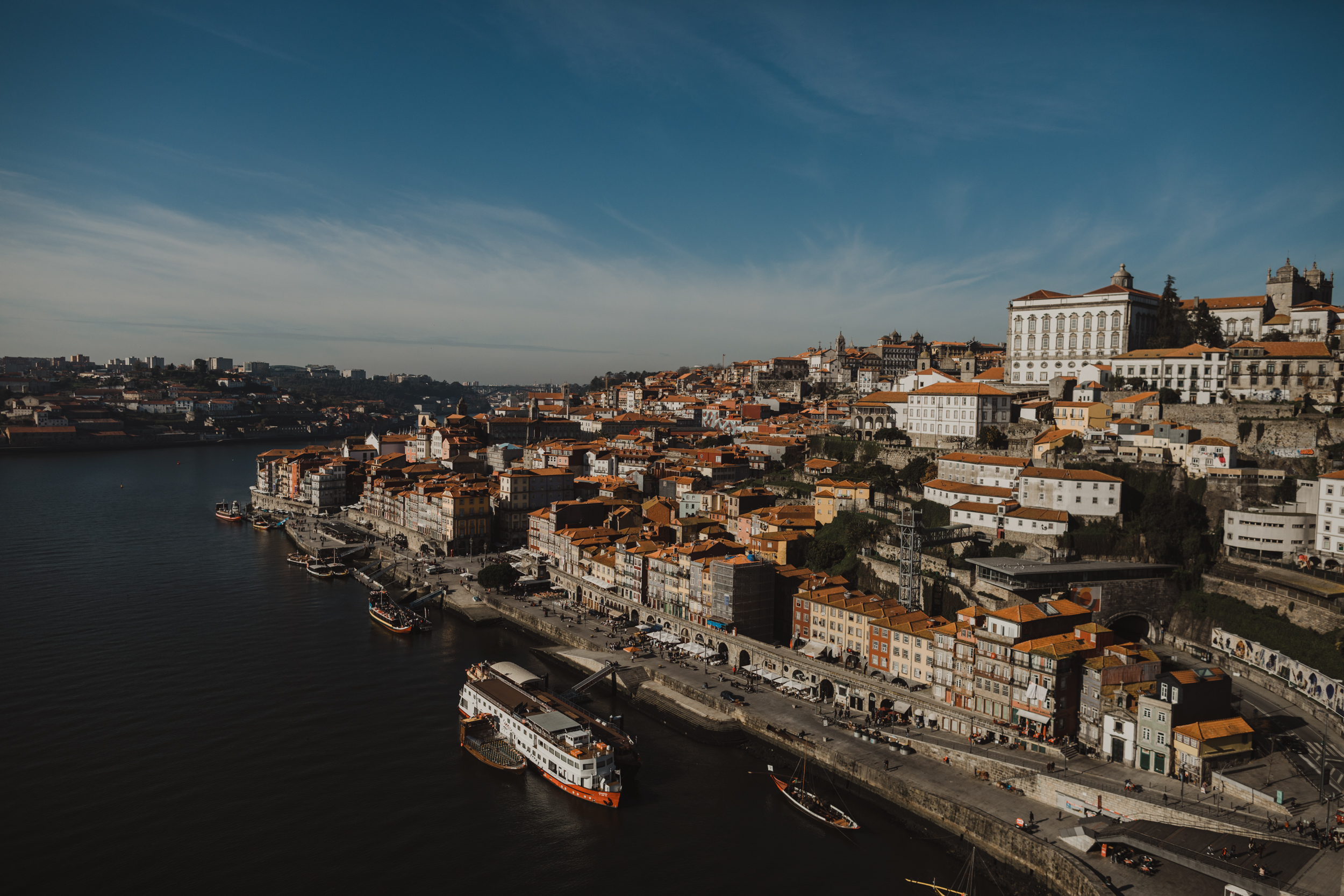 View from Ponte Luis I