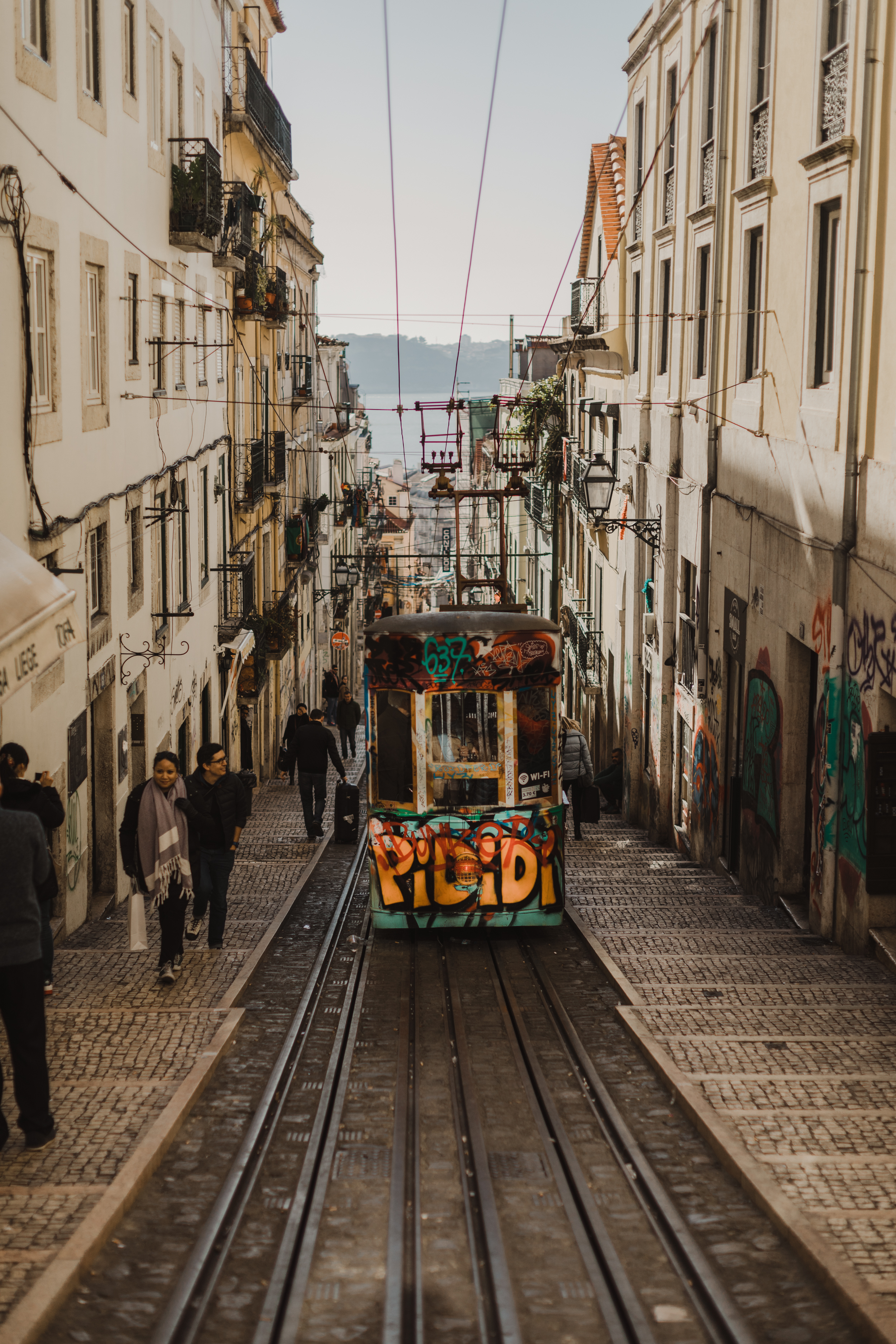 The most photographed street in Lisboa