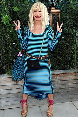 Fashion Designer, Betsey Johnson. Mess.
