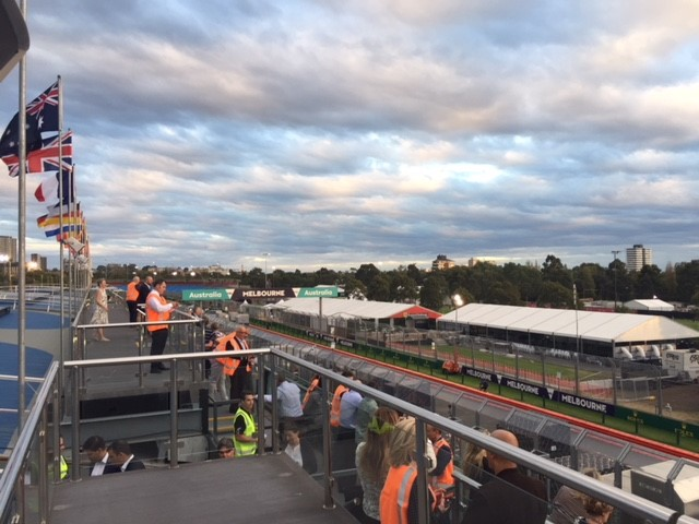 March 2018, Season Opening Event - Albert Park Circuit, Pit Tour