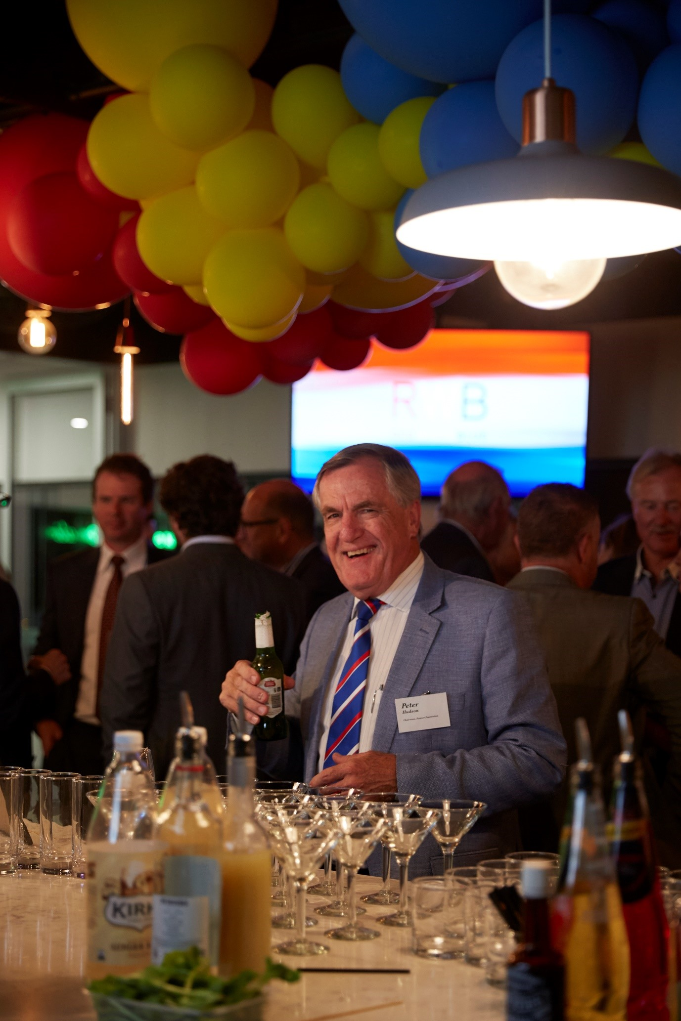 Chairman Peter Hudson invites you to the next RWB function on August 1st!
