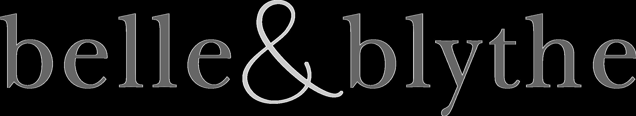 Belle&Blythe - logo.design. Transparent background.png
