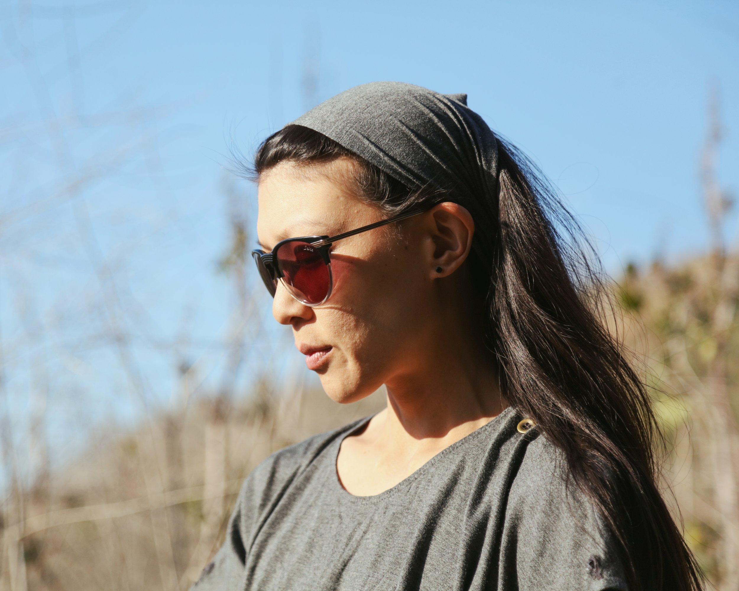 Stone Gray Headband Multi Use