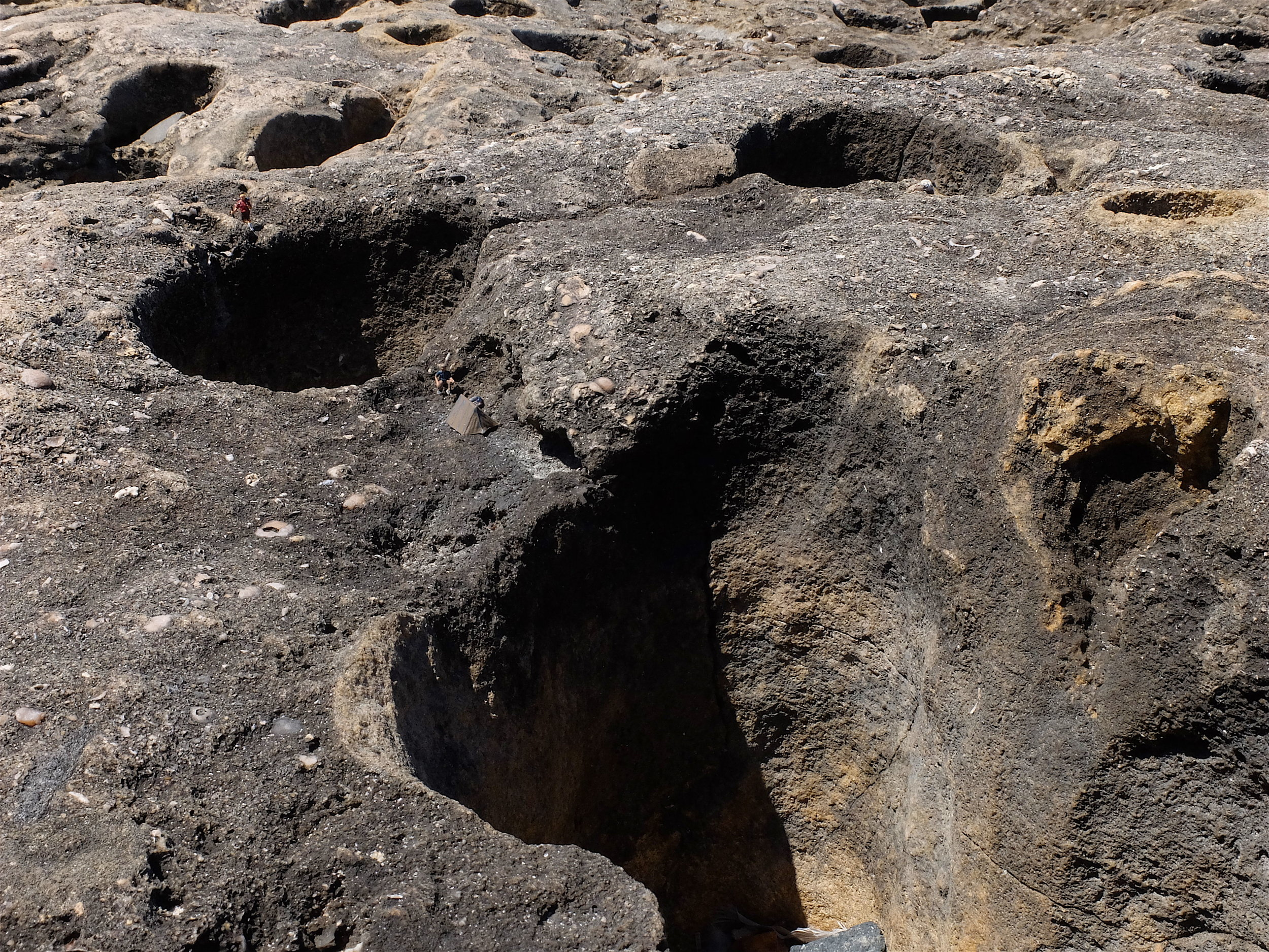 7. In the country of the sinkholes