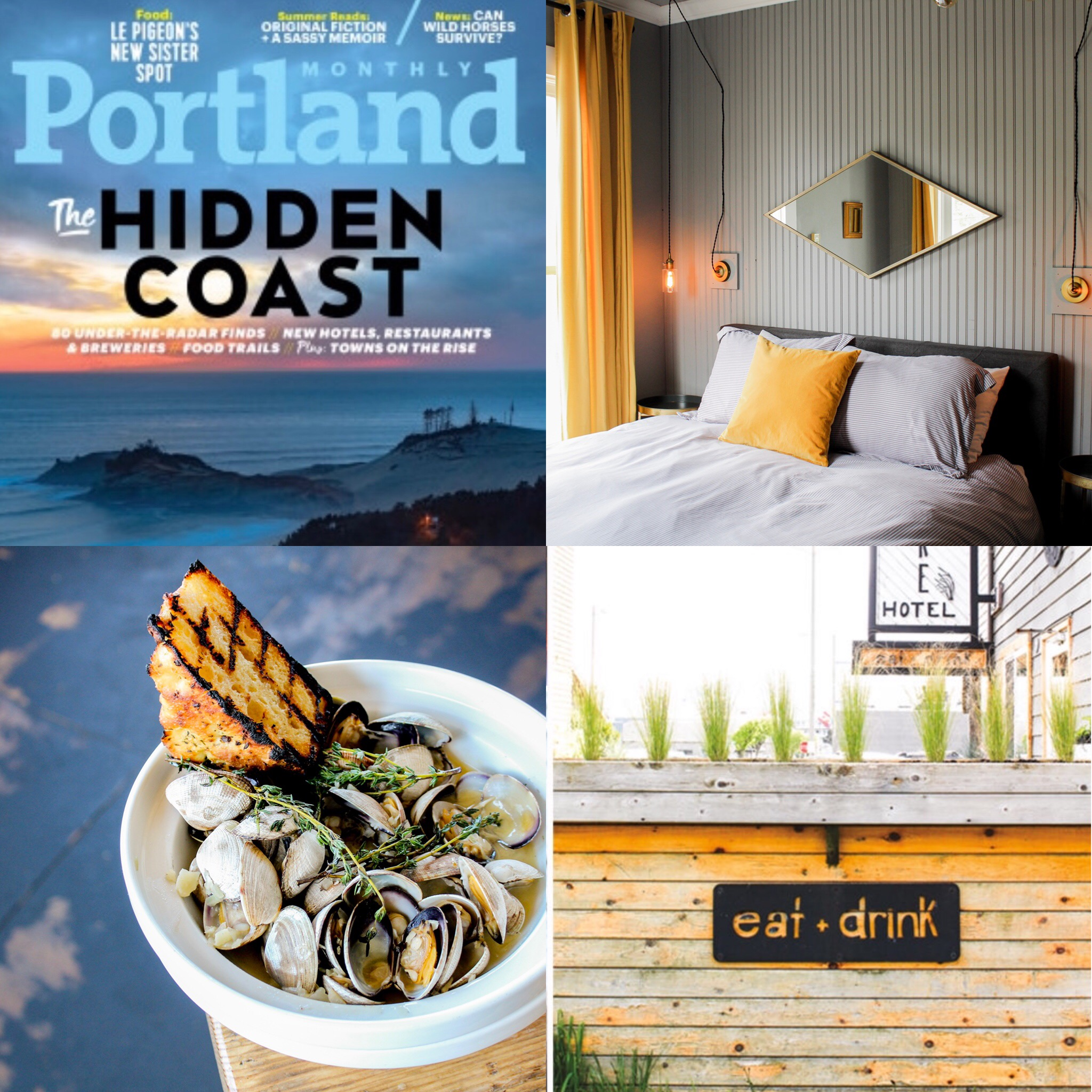 PORTLAND MONTHLY - AUGUST 2018   North Coast tour spread