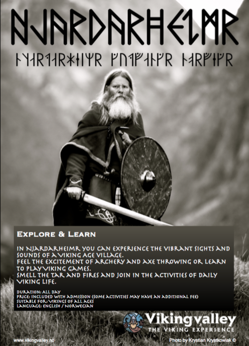 Explore & learn — Viking Valley - The viking experience