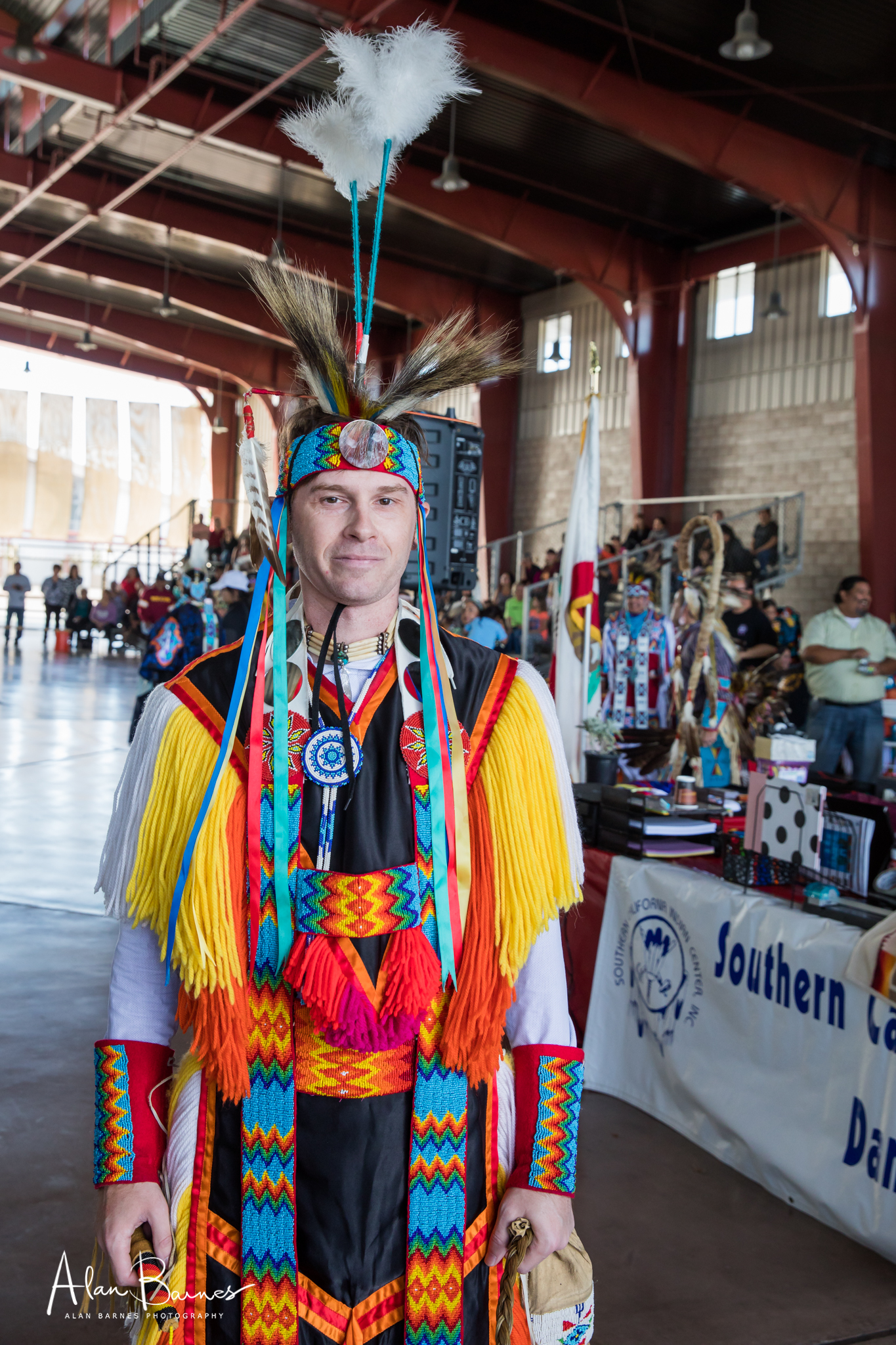 I was very surprised to find a Dave from Birmingham UK amongst the dancers! He told me there are groups in the UK who are dedicated to Native American culture and history. Dave is a brilliant dancer and is now a US resident.