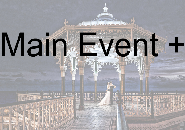 Main Event + (9 hours) - From Bride Preparation to the First Dance.Supply of high resolution, professionally processed images on USB stick'.Creation of a password-protected online gallery.Supply of 120 high quality 7x5 prints.Price: £1190