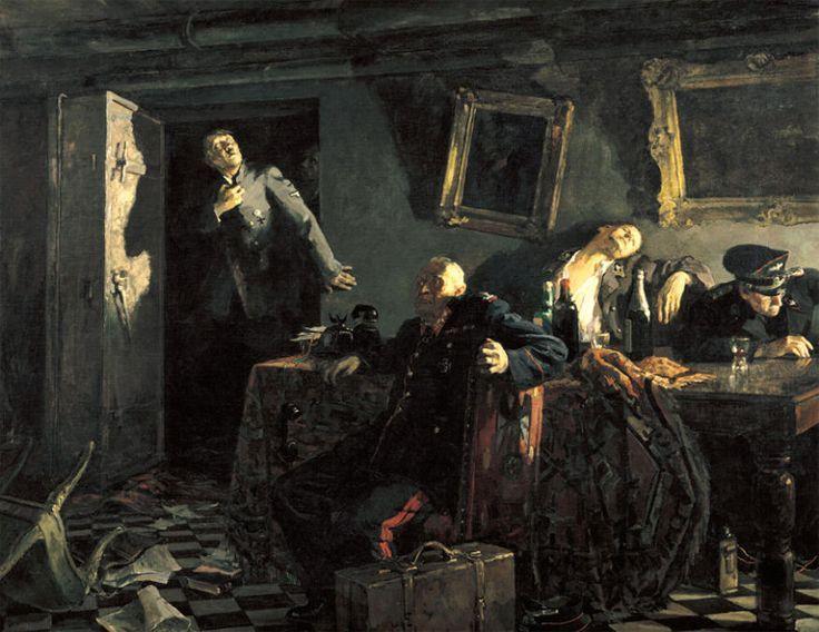 M. Kupriyanov, P. Krylov, N. Sokolov. The End. Oil on canvas, 1947-48. 200x251cm. The Tretyakov Gallery, Moscow.