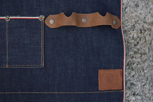 selvedge denim schort