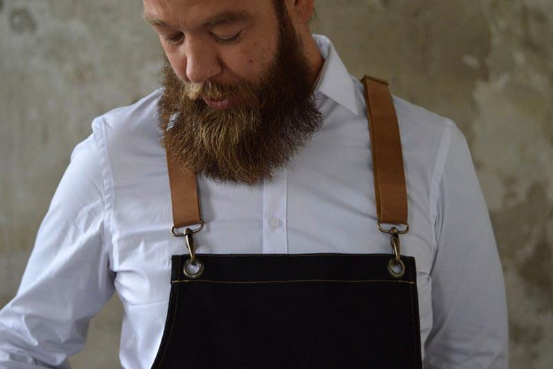 Horeca schort op maat? van Dieuwertje maakt horeca schorten en horeca sloven in de stijl van jouw bedrijf.
