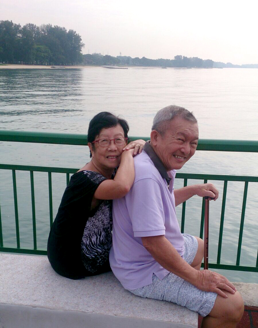Cristene Chang and Terry Poh