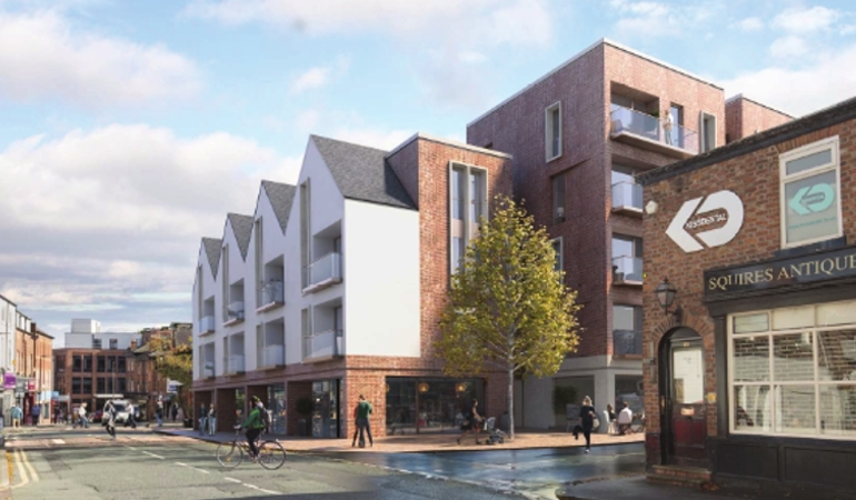 <p><strong>Chapel Square</strong>Altrincham<i>View Case Study</i></p>