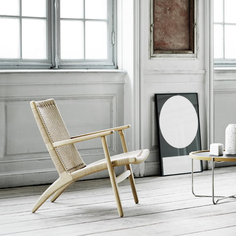 CH 22 loungestol | Møbelgalleriet Stavanger | Designmøbler