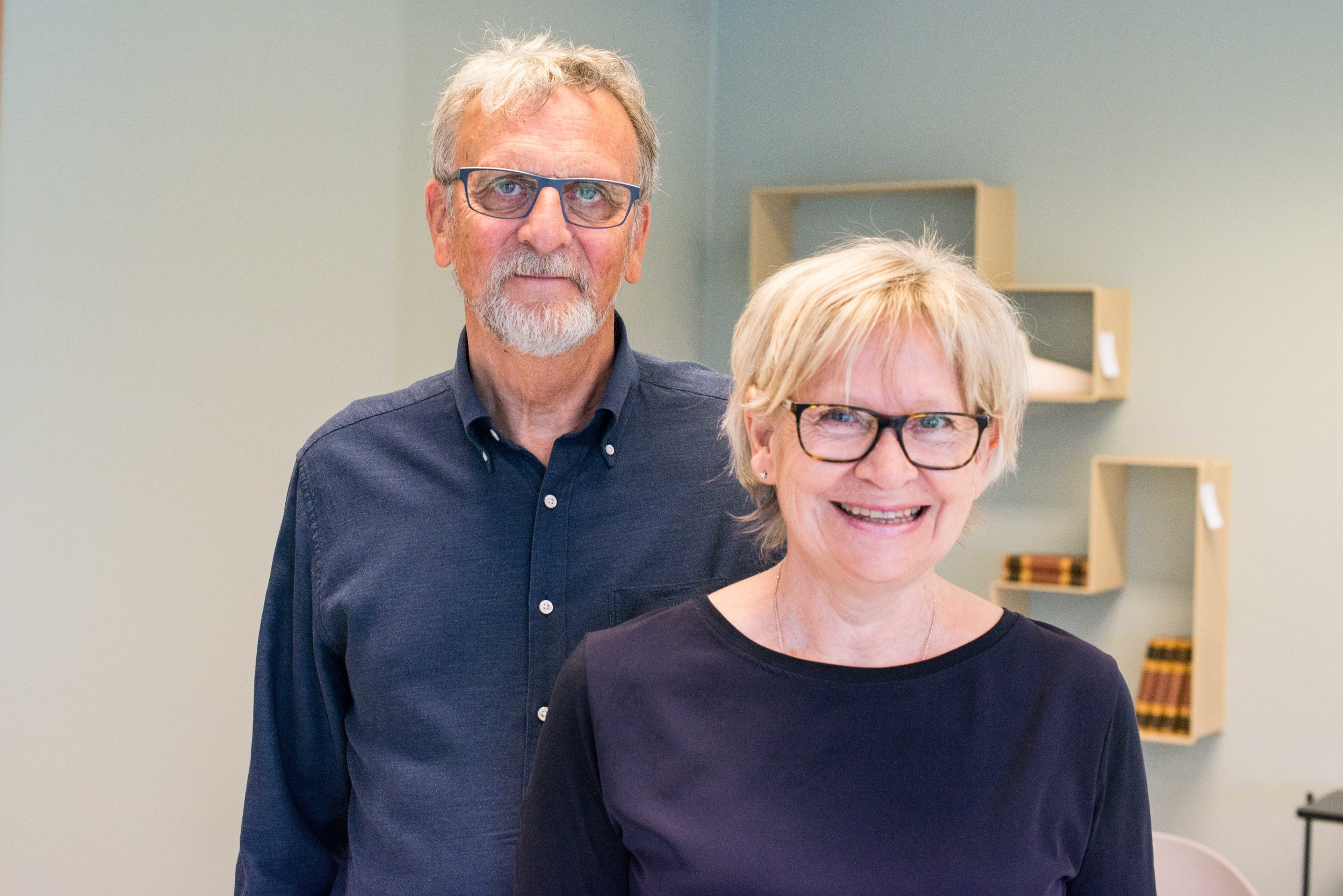 Astrid og Jarl har drevet Haukaas møbler og interiør siden 1985