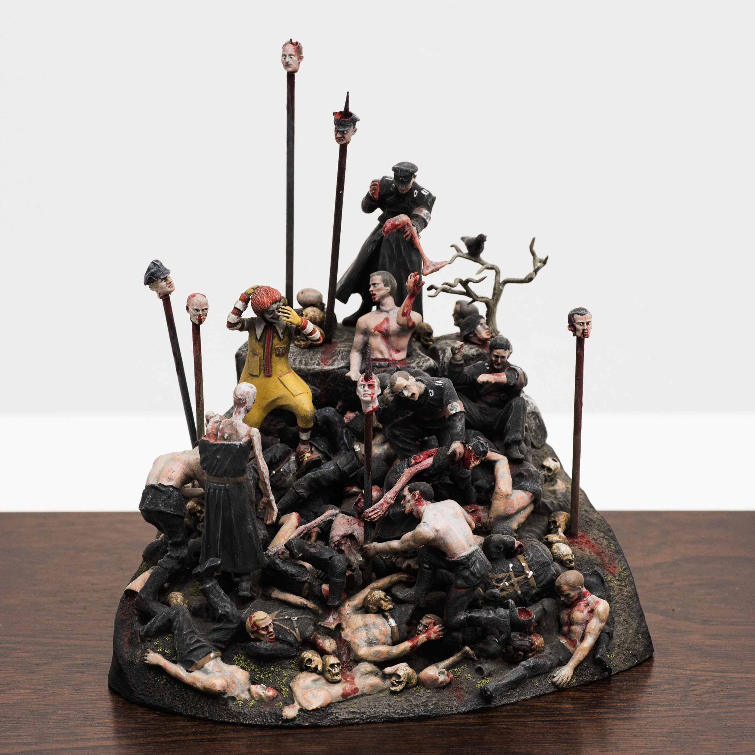 Lot 16: Jake & Dinos Chapman - My Cat Went to See Hell and All I  Got Was This Lousy Souvenir