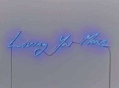 Lot 5: Tracey Emin - Loving You More