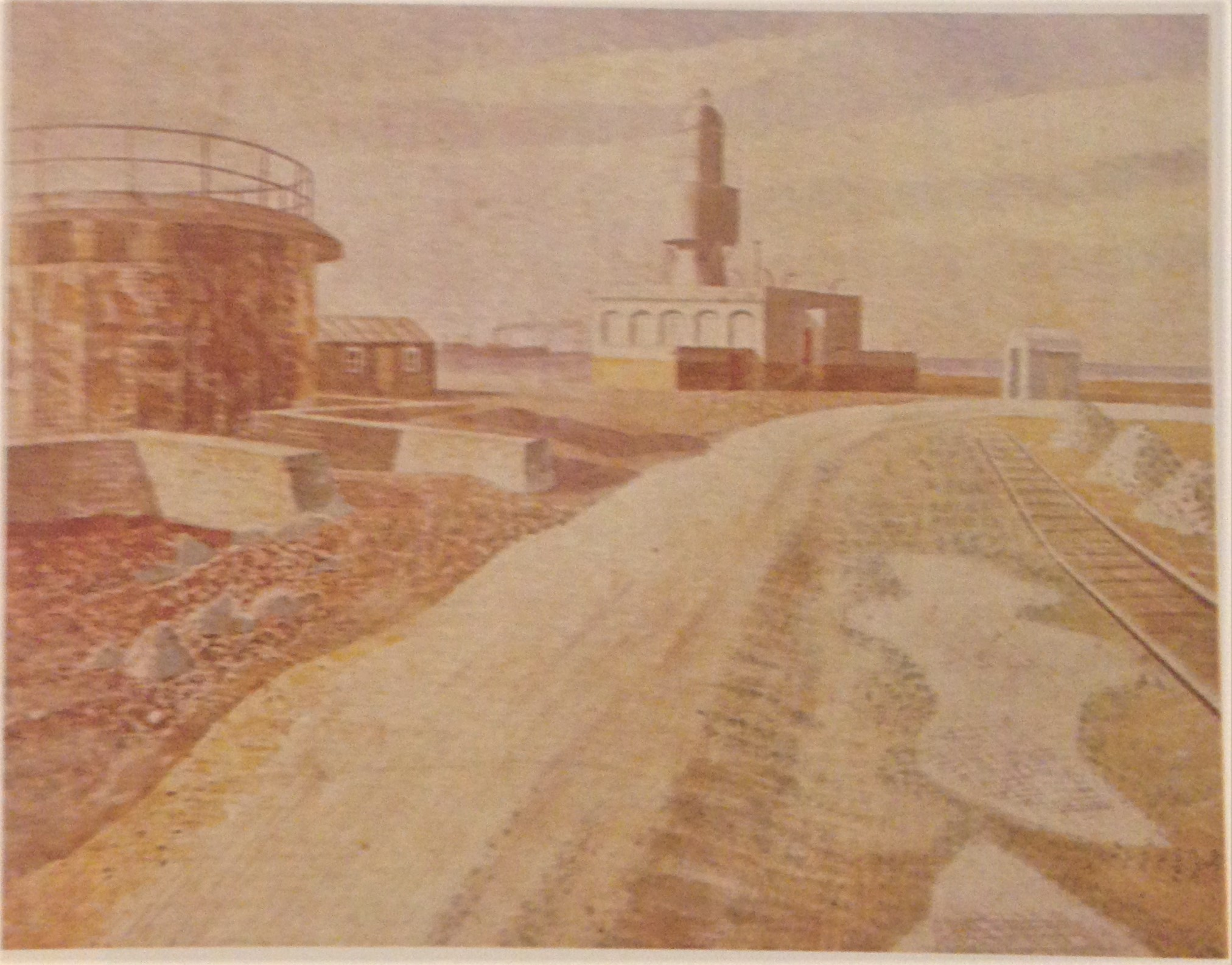 Lighthouse and Fort (1938)