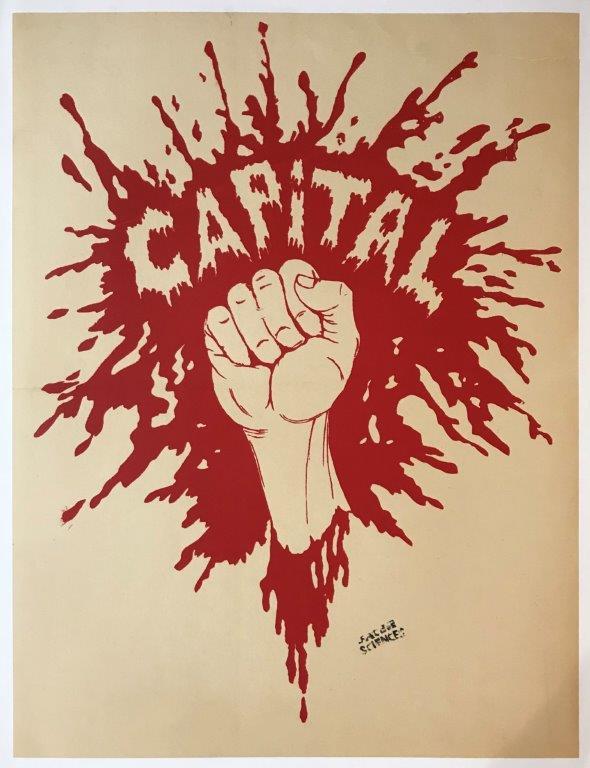 Mai 68,  Capital  (1968) Screenprint