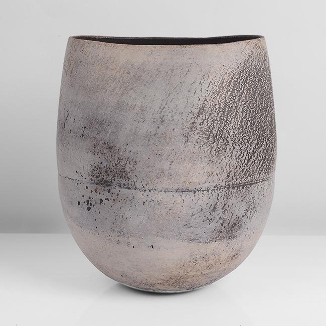 Hans Coper,  Squeezed Vase Form  (Lot 124) Sold: £33,600
