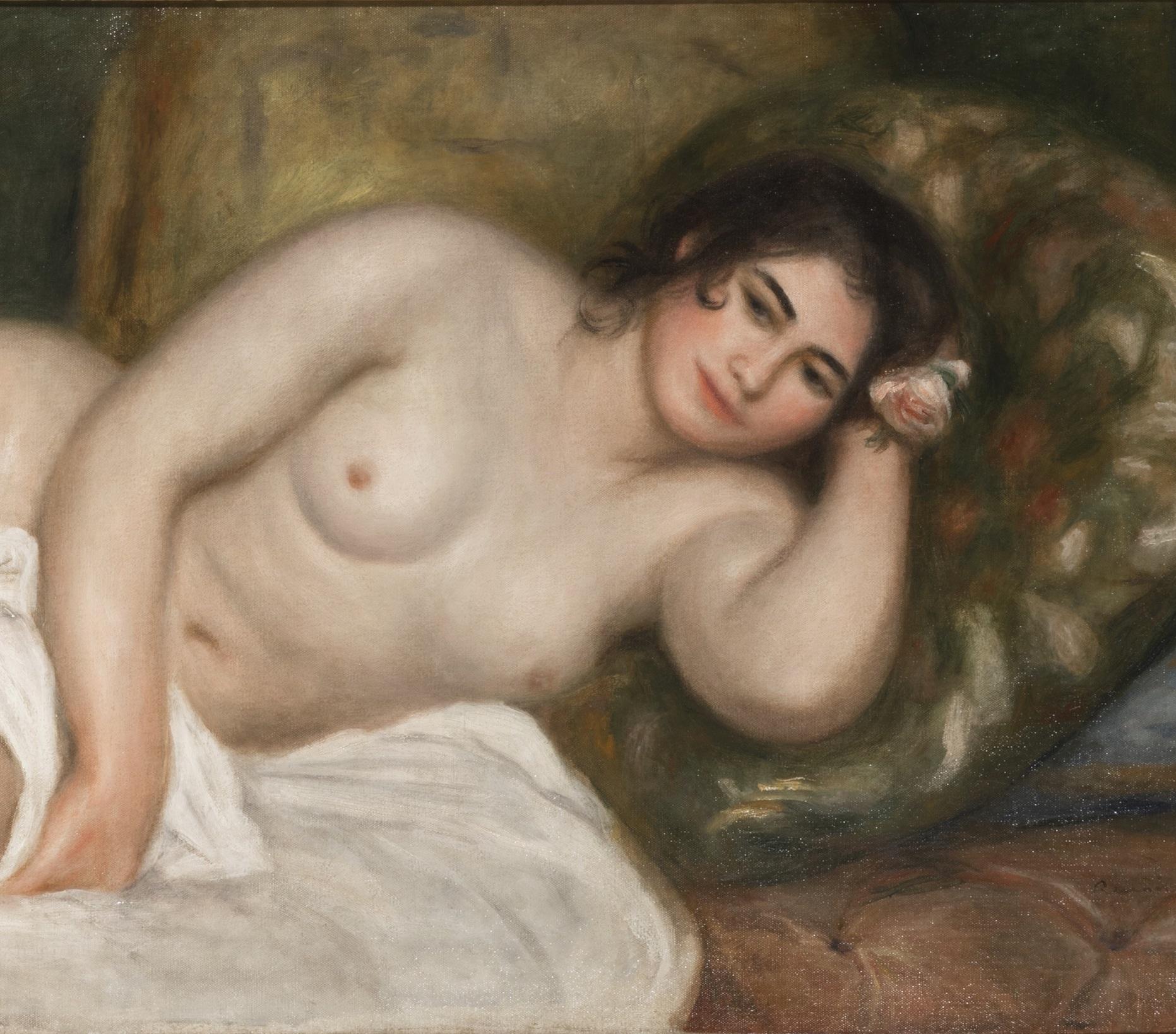 Renoir,  Femme nue couchée (Gabrielle)  (1903) (cropped)