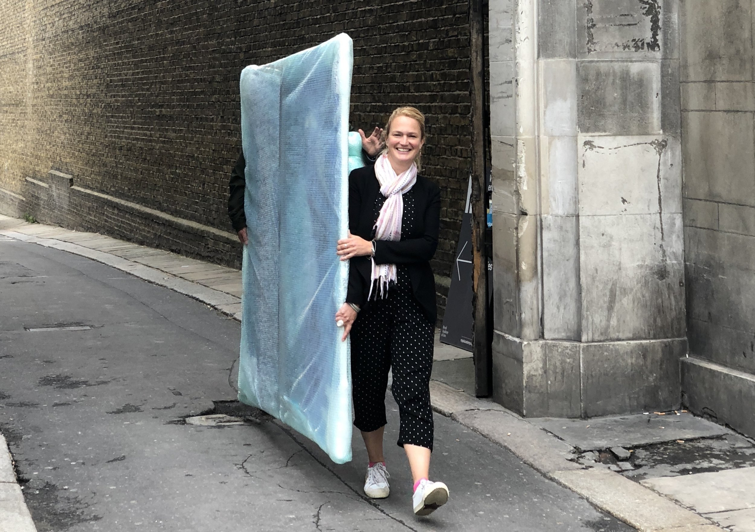 Maggi Hambling -  Rearing Wave  at  17 Duke of York Street