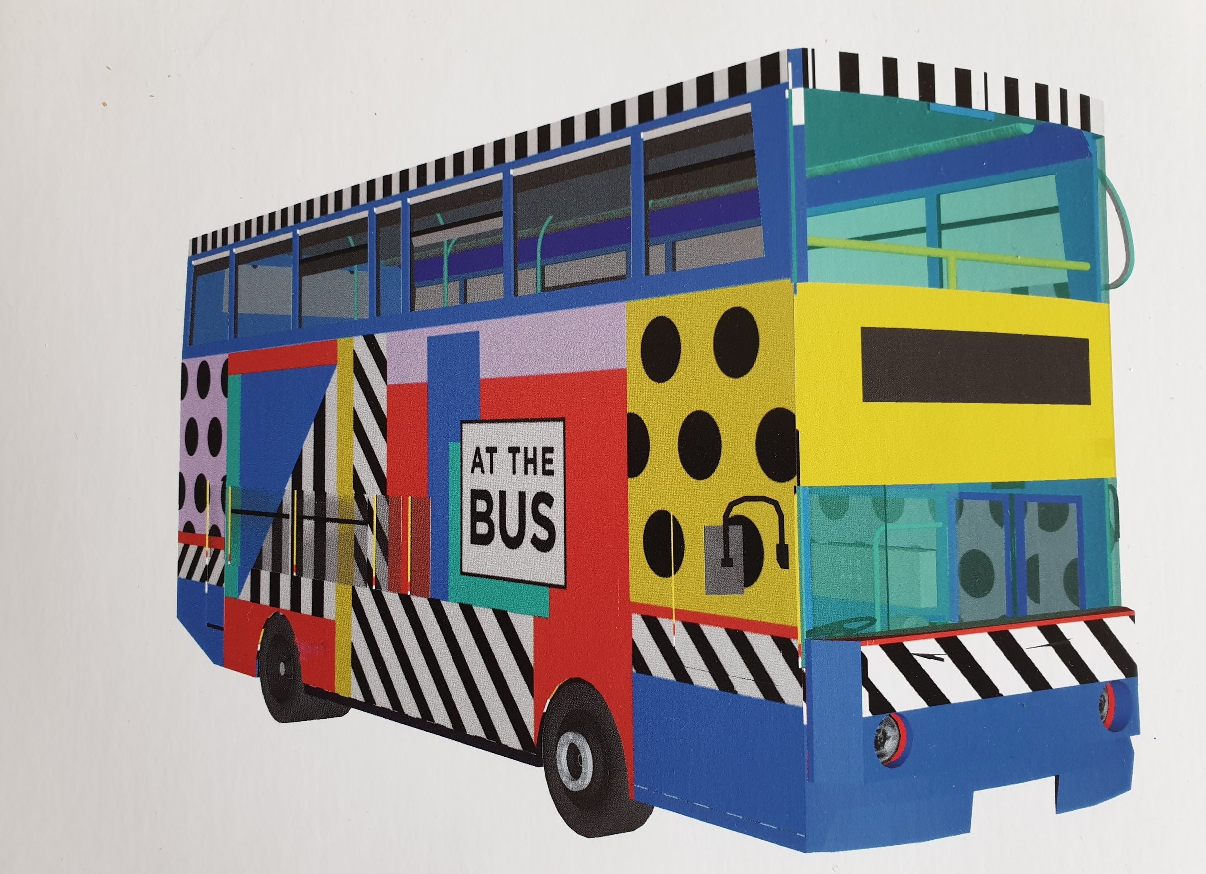 Bus design by Camille Walala