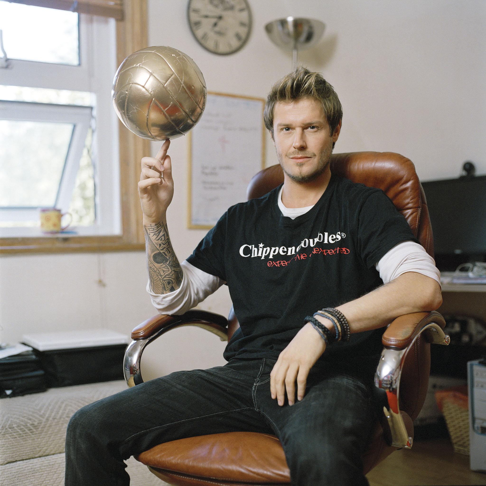 Andy Harmer alias David Beckham