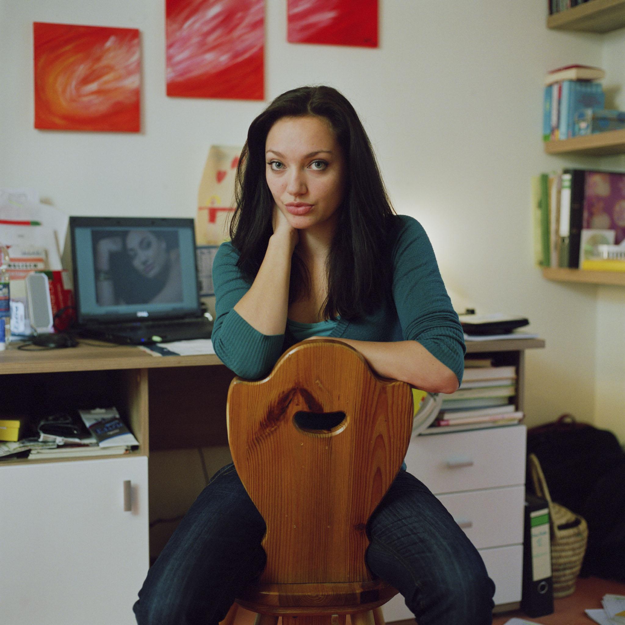 Olivia Preisser alias Angelina Jolie
