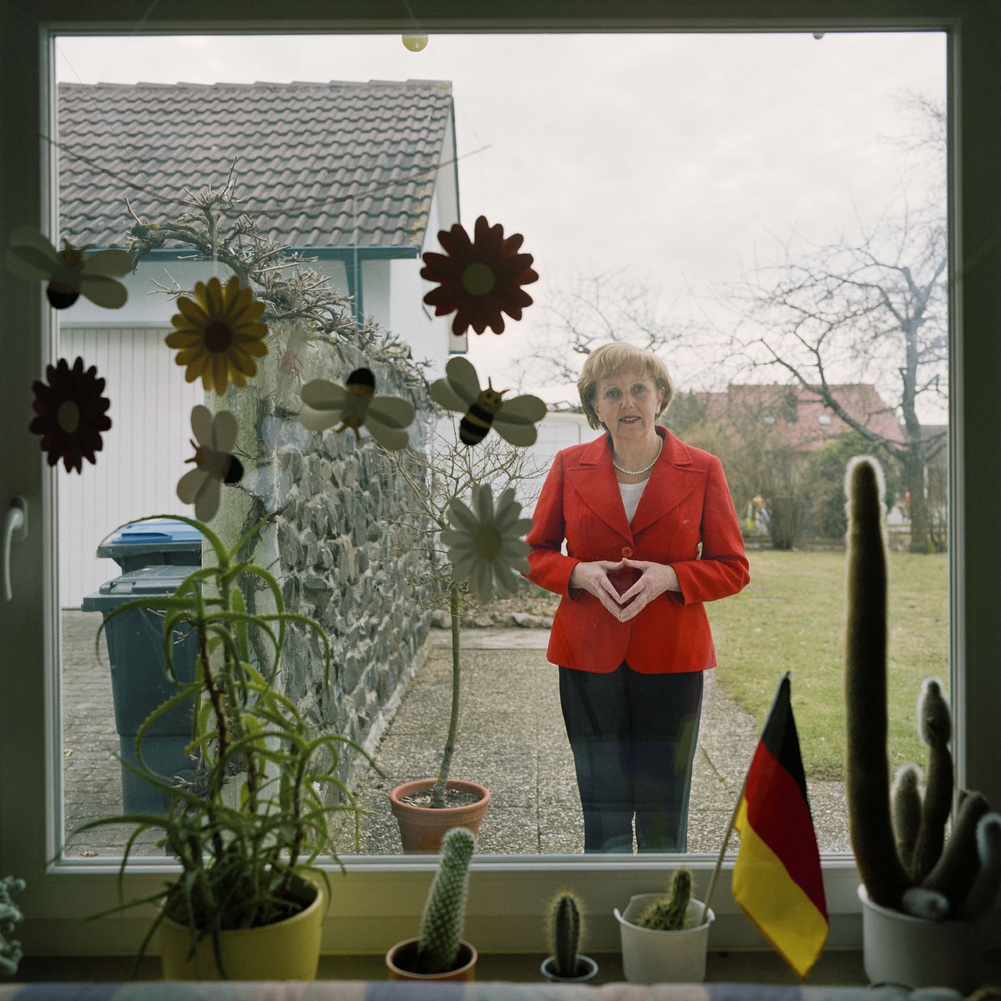 Marianne Schätzle alias Angela Merkel