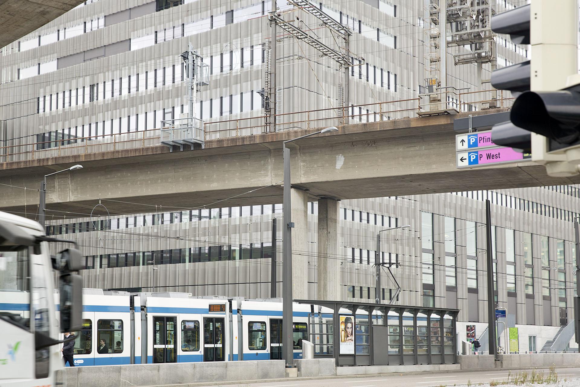 Architektur ZHDK Toniareal