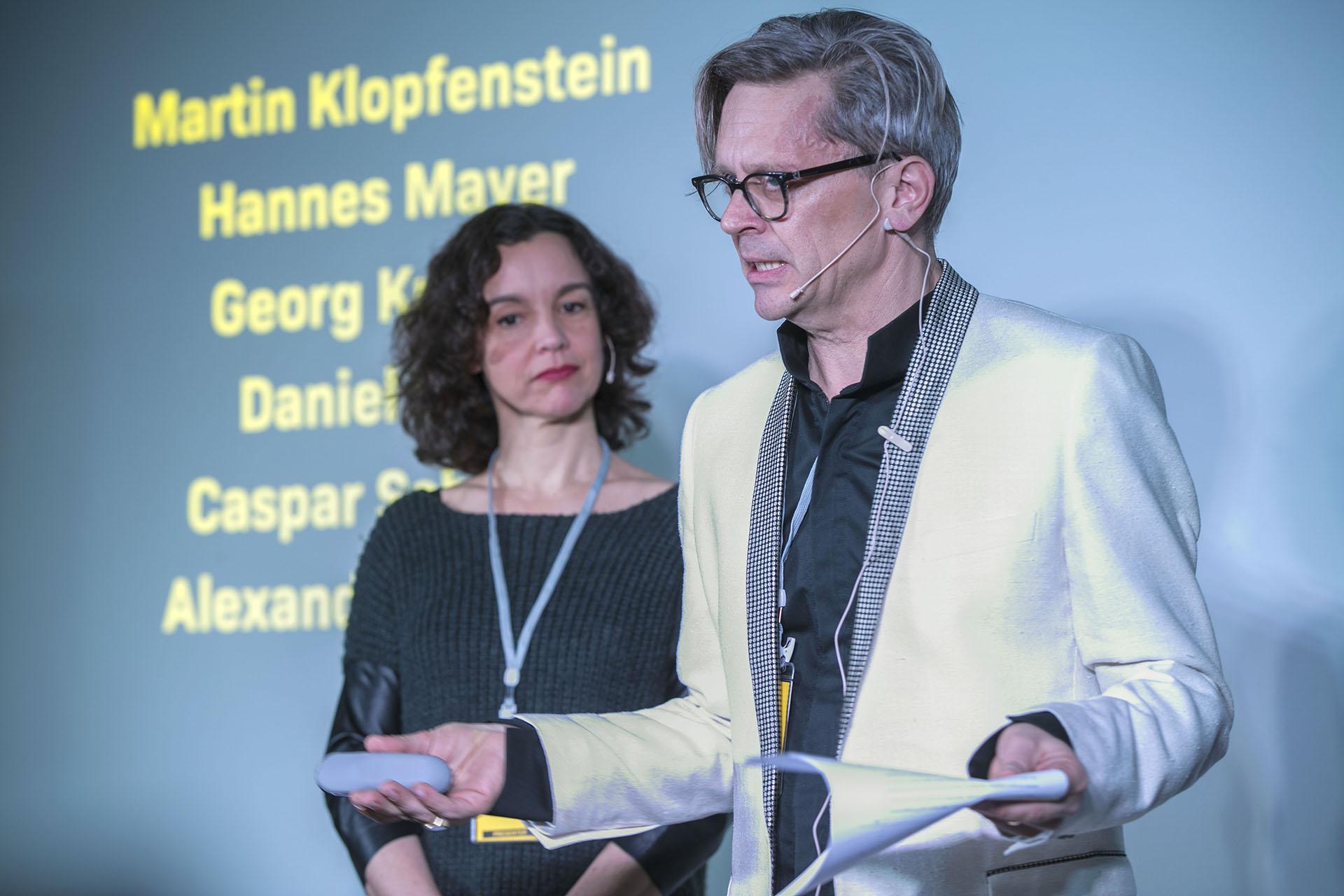 Moderation Judit Solt und Stefan Jauslin