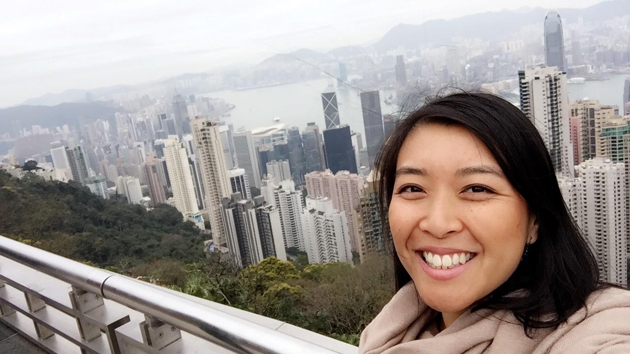 Hello from stunning Hong Kong :)