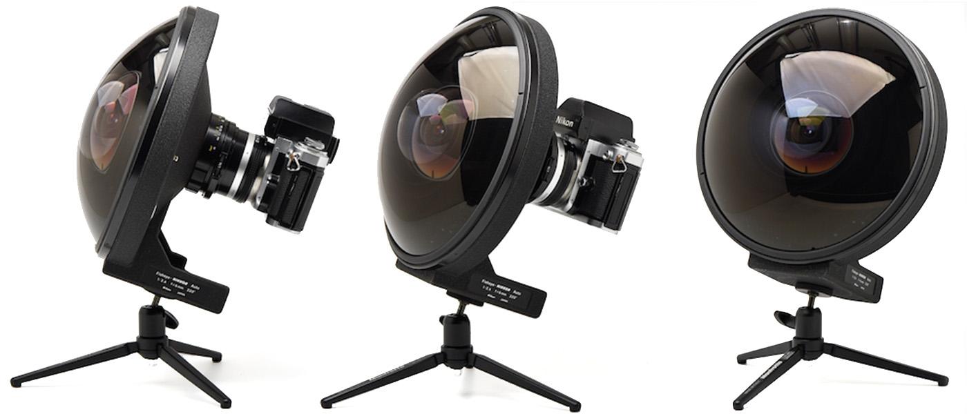 Nikon 6mm fisheye cameraplex