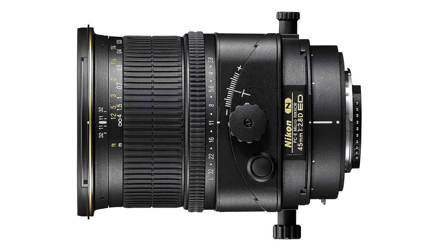 Nikon Tilt Shift 45mm Cameraplex