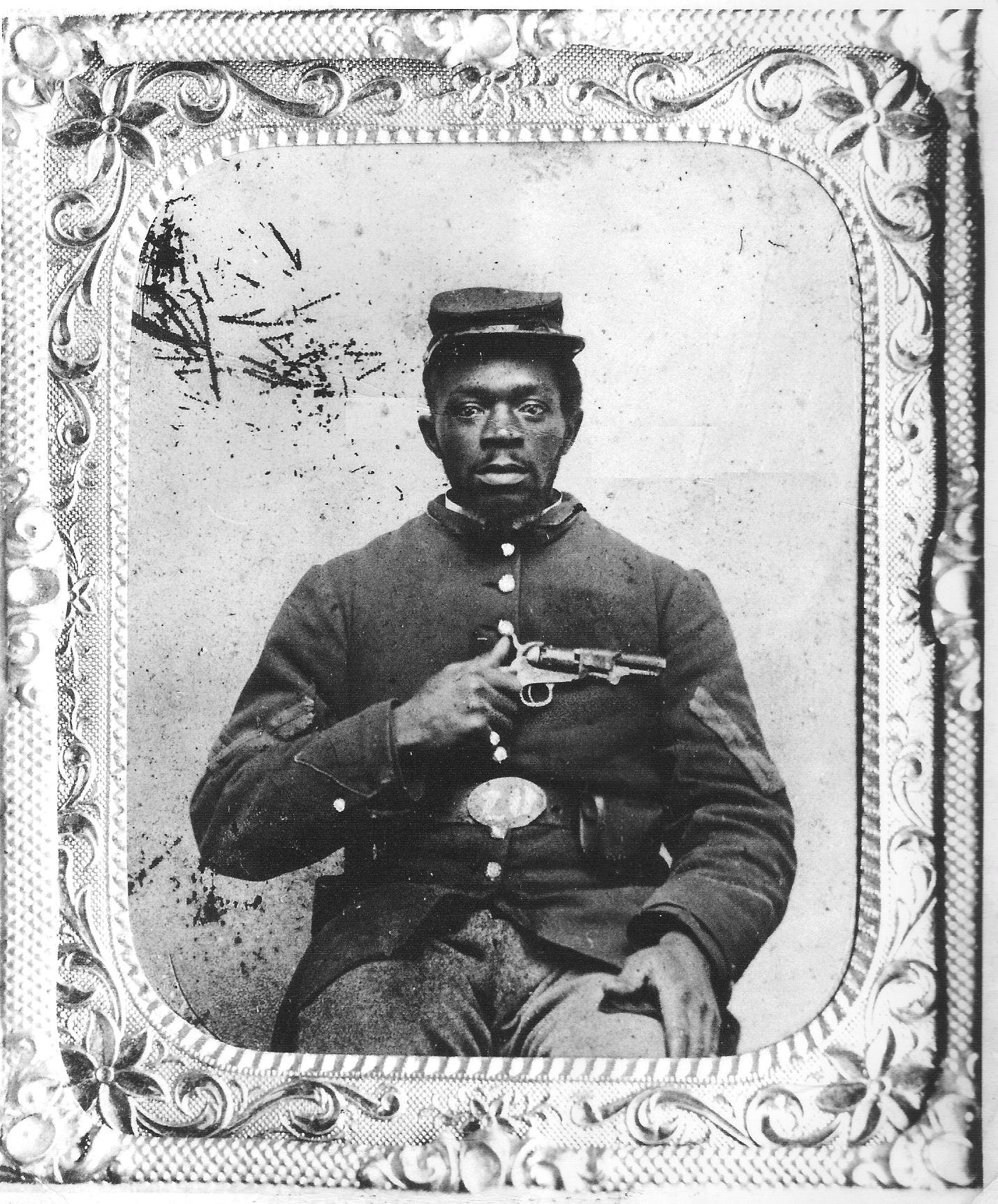 Where to buy tintype photographs Civil War Soldier