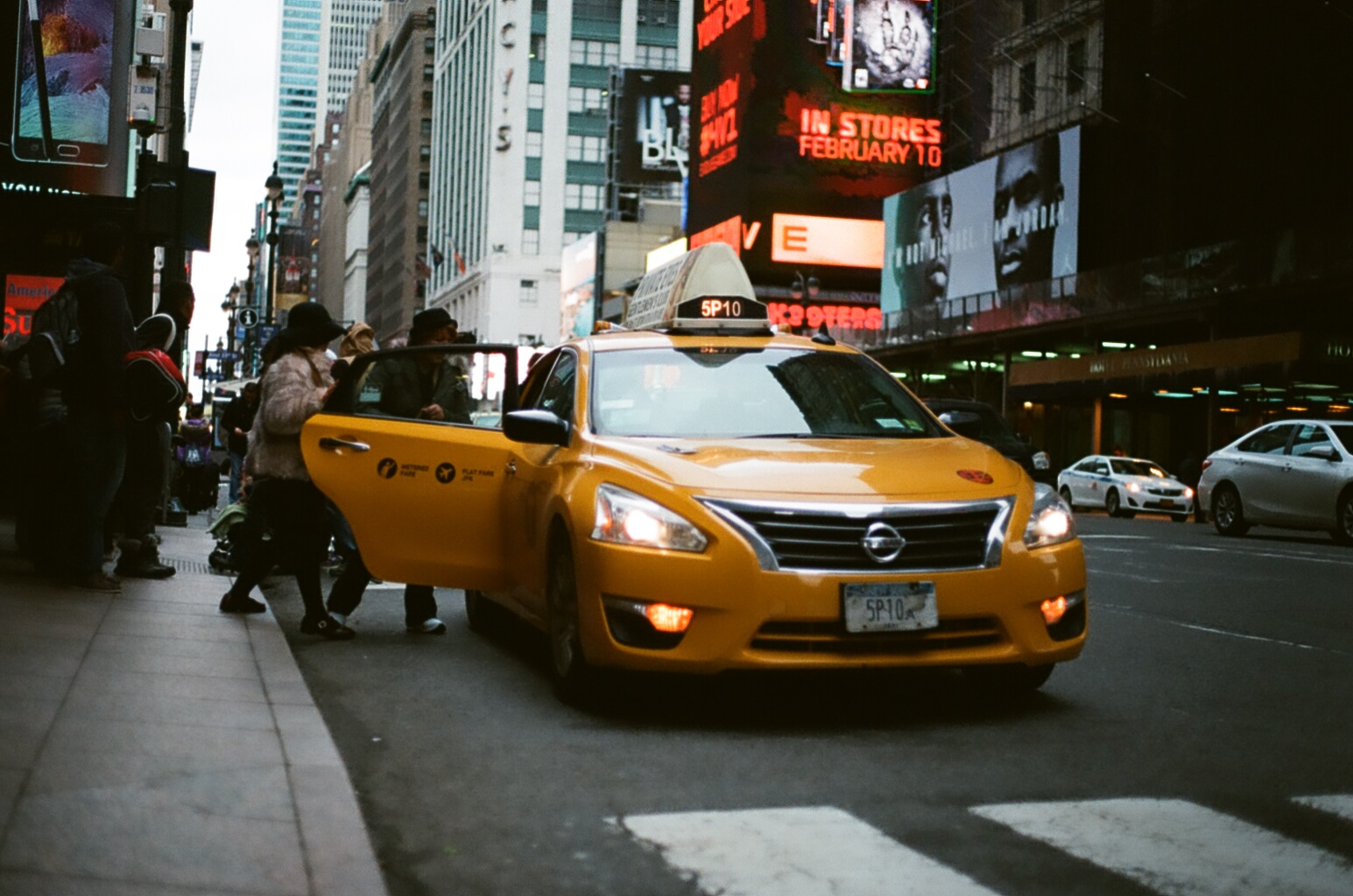 Going Analog, Full 35mm Photography Kit, Taxi times square