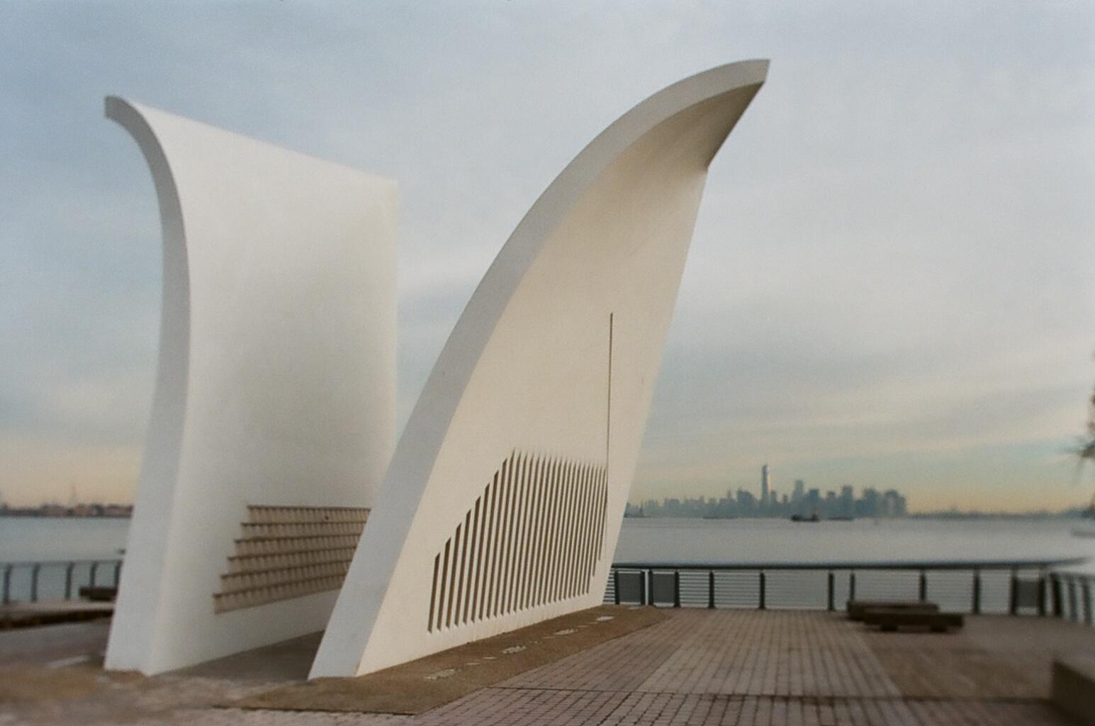 Going Analog, Full 35mm Photography Kit, Staten Island 9/11 Memorial