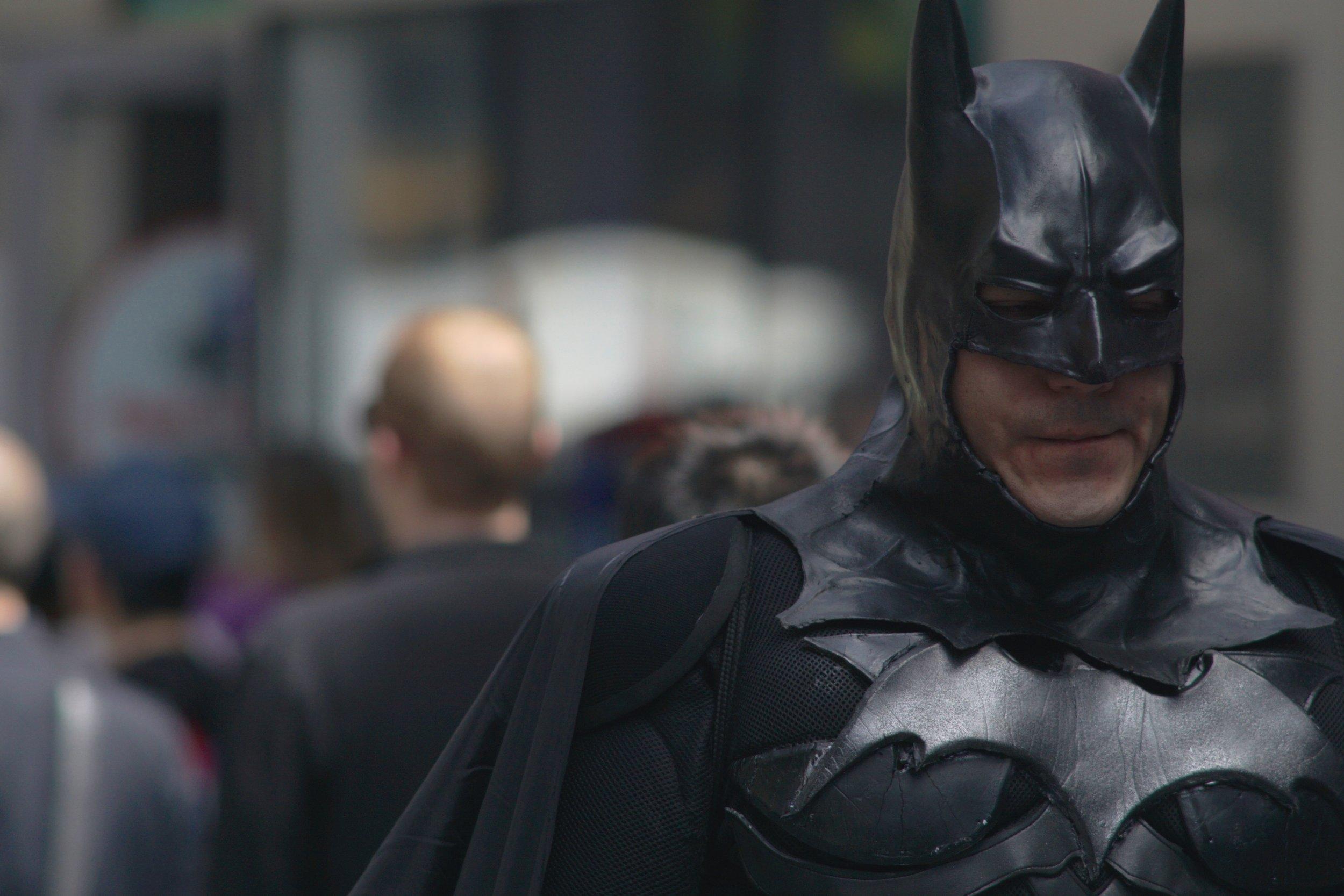Street Photography with A Telephoto Lens, batman!