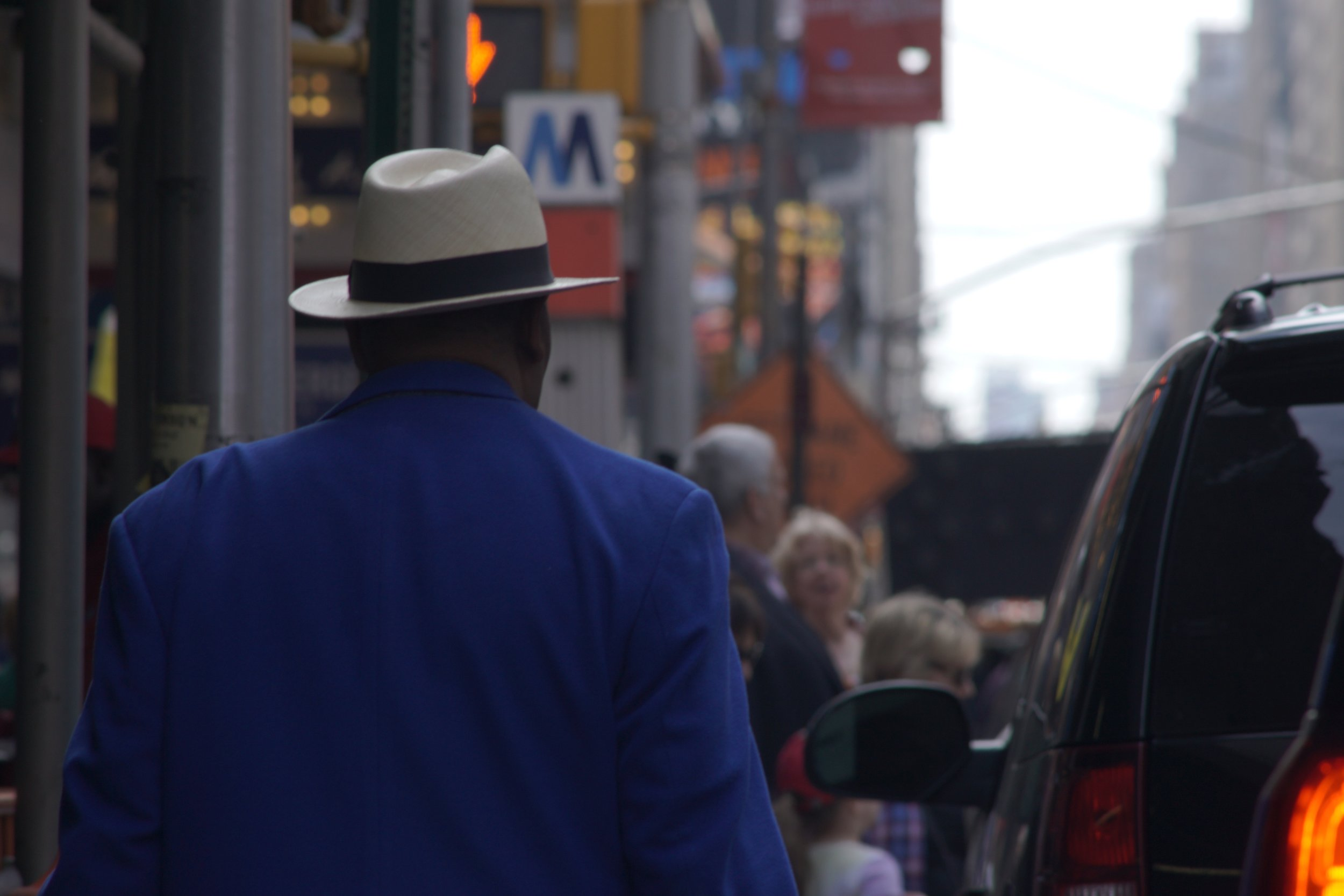 Street Photography with A Telephoto Lens, 70s style