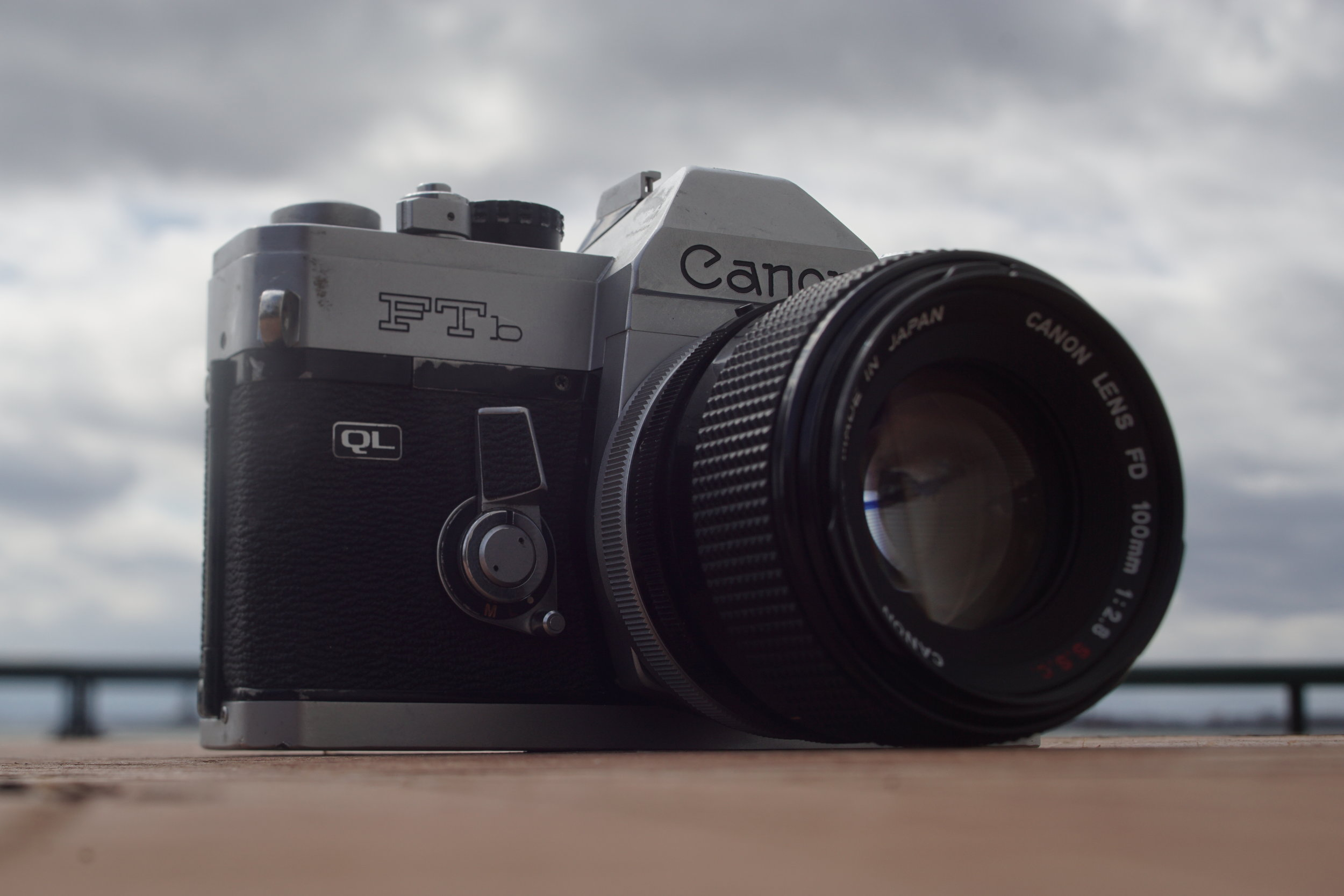 Going Analog, Full 35mm Photography Kit, Canon FTb QL with FD 100mm f/2.8 S.S.C. Lens
