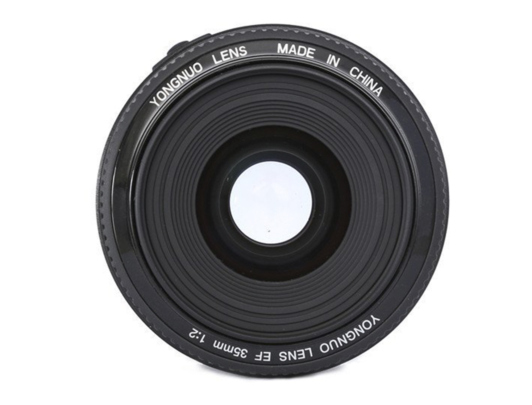 Budget Yongnuo 35mm f2 aperture Cameraplex