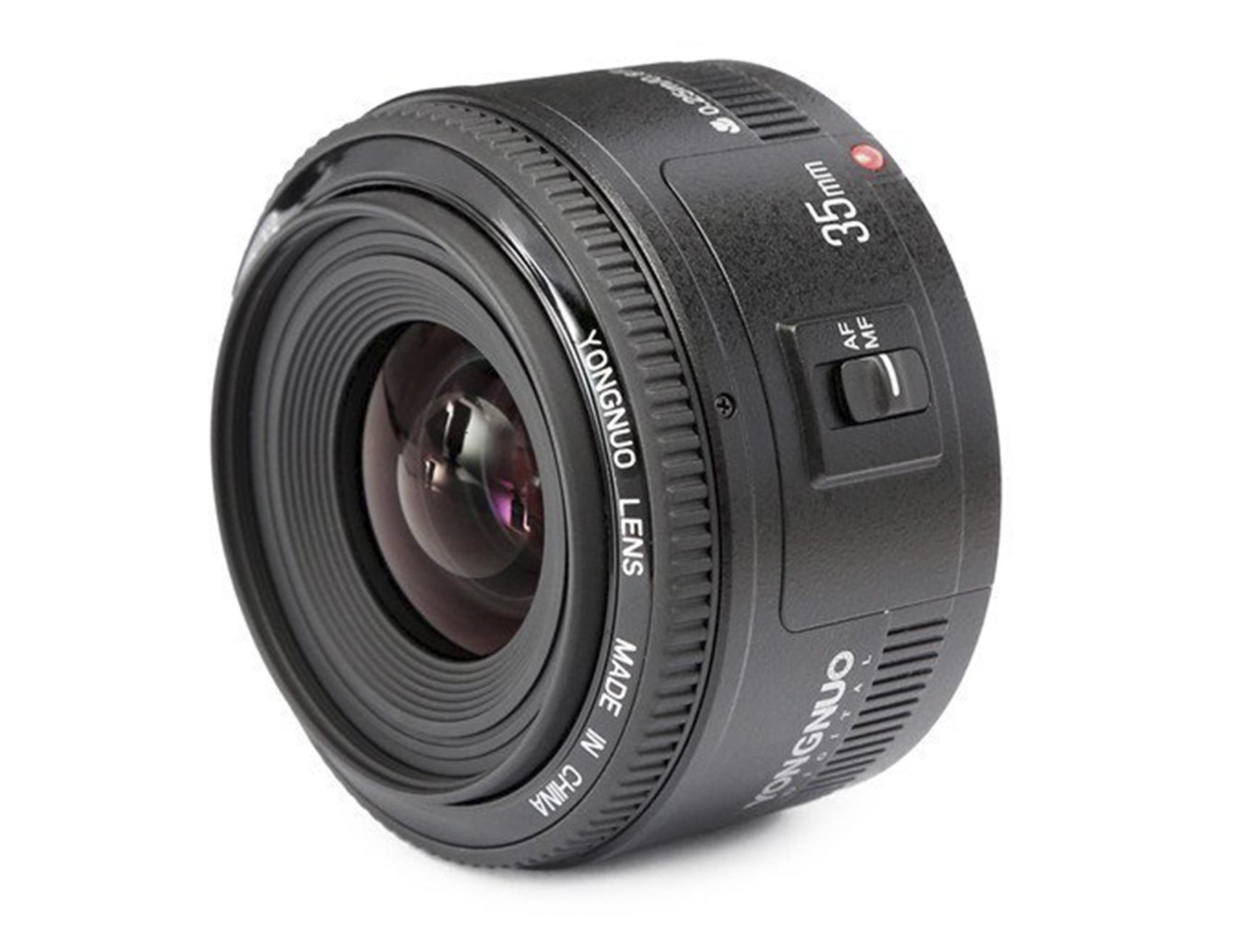 Budget YongNuo 35mm f/2, Yongnuo 35mm f2 glass cameraplex