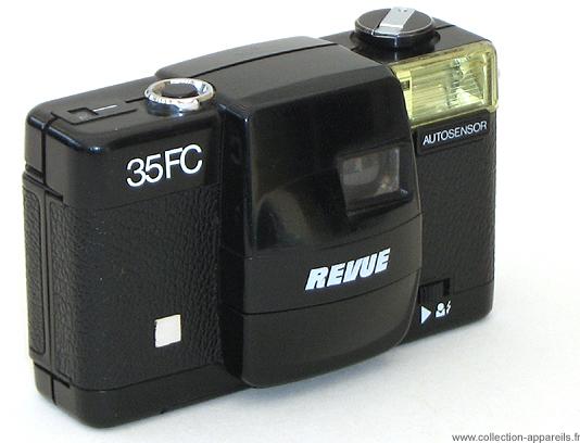 Foto-Quelle Revue 35 FC Cameraplex, strangest cameras