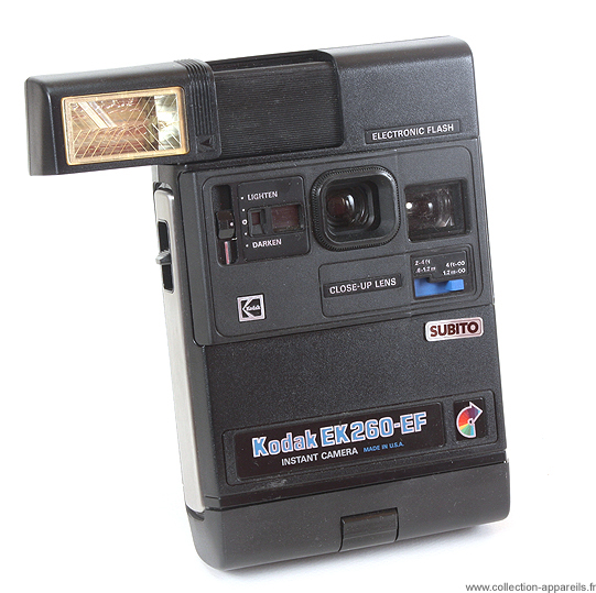 Kodak EK 260EF Cameraplex, strangest cameras